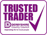Trusted Trader by Derbyshire County Council Logo
